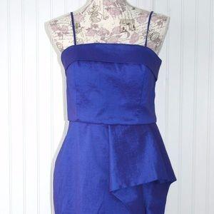 Calvin Klein Gorgeous  blue dress!! Size 4